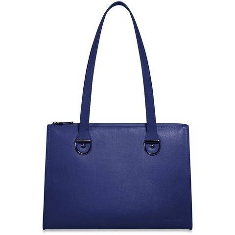 Jack Georges Chelsea 5885 Saffrian Leather Top Zip Handbag