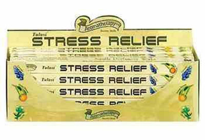 Tulasi Stress Relief Incense - 8 Sticks Pack (25 Packs Per Box)