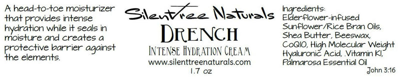 Intense Hydration & Moisturizing Set- Drench-Hyaluronic Acid Serum-Natural Skincare, Emollient, Skin Barrier Protection, TEWL, Free Shipping