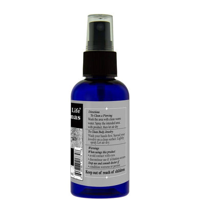 Whole Life Piercing Aftercare Spray - Tea Tree Hydrosol with Tea Tree Extract - 60ml
