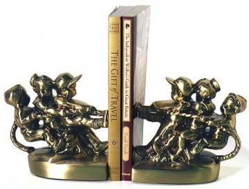 P. M. Craftsman 429B Tug-O-War Bookends