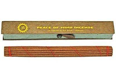 "Incense Peace of Mind Tibetan, 8.5"" Length - 3 Packs, 19 Sticks Per Pack"