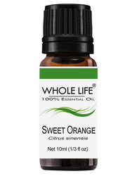 100% Pure Sweet Orange Essential Oil - Citrus limonum | 10ml