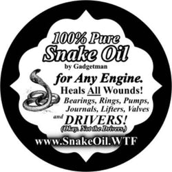 100% Pure Snake Oil 5 cc Doses
