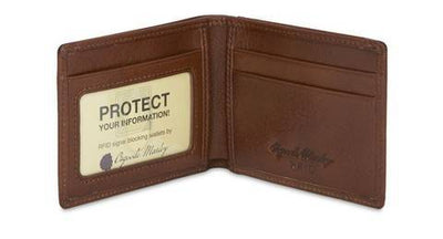 Osgoode Marley 1166 Leather RFID Mini Billfold Wallet