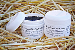 A Simple Revival Coffee & Argan Facial Scrub - Natural Skincare, Organic Facial Scrub, Exfoliating Scrub