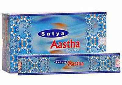 Satya Aastha Incense - 15 Gram Pack (12 Packs Per Box)