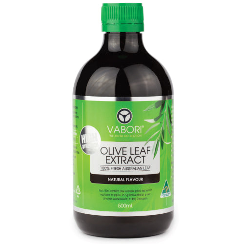 High Strength Olive Leaf Extract