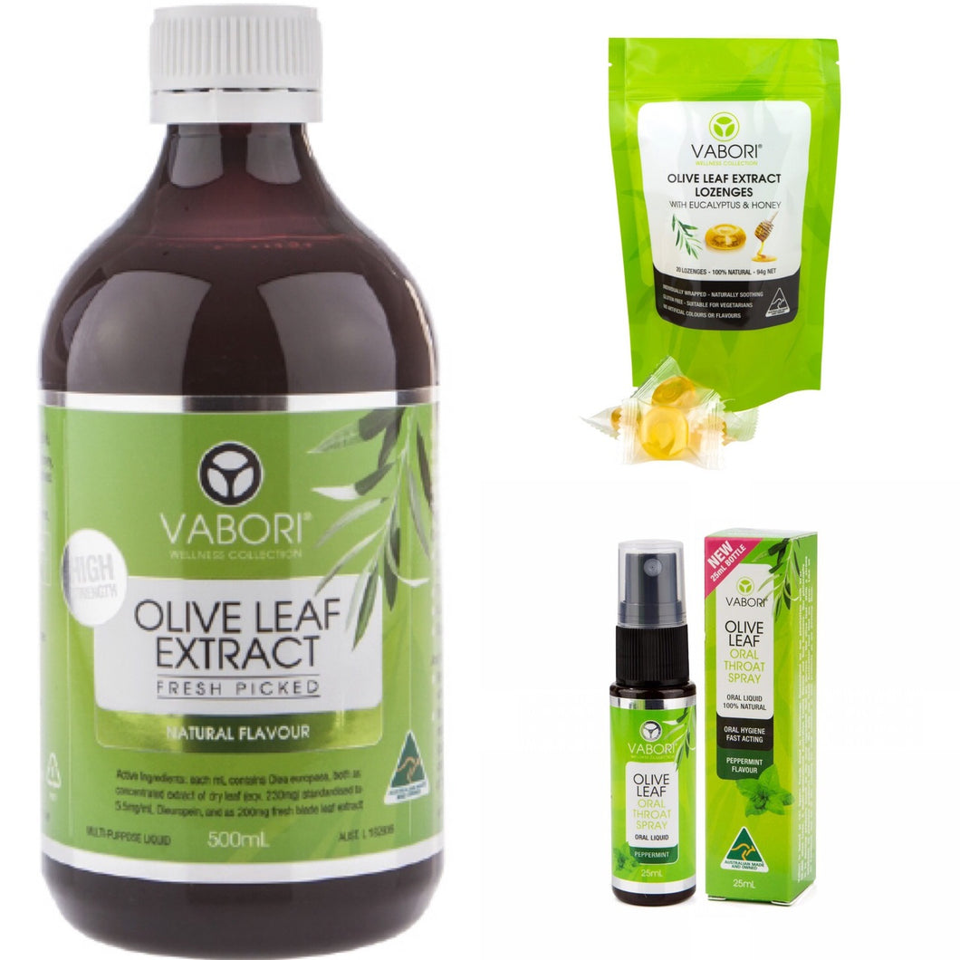 Olive Leaf Extract Value Pack