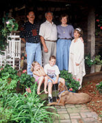 Hanes family photo, September 1997