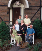 Hanes family photo, September 2002