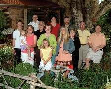 Hanes family photo, September 2007