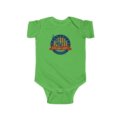 God Gun Lifestyle Infant Fine Jersey Bodysuit