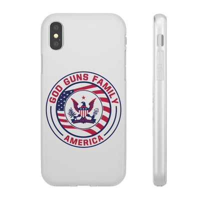 God Gun Family America Flexi Cases