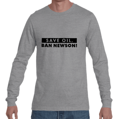 Save Oil Long Sleeve Jersey Tee