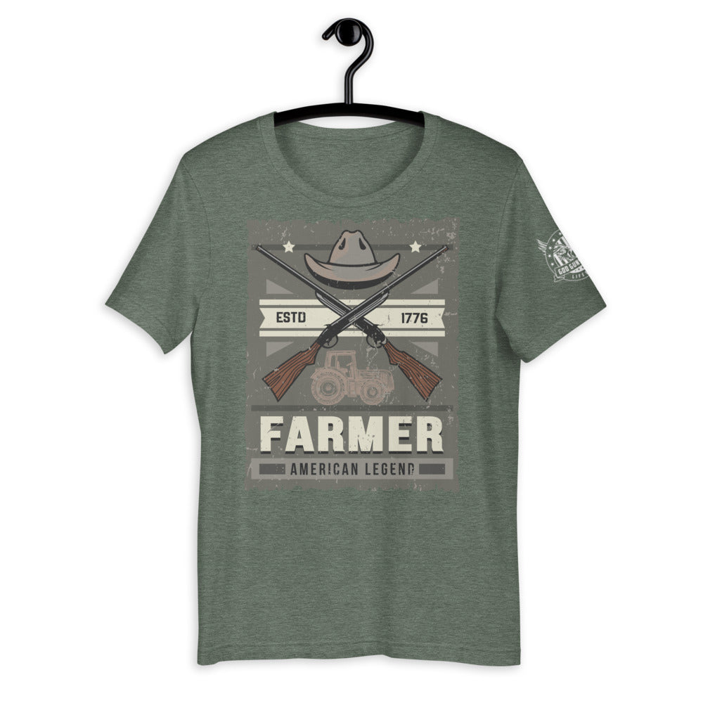 Farmer Short-Sleeve Unisex T-Shirt