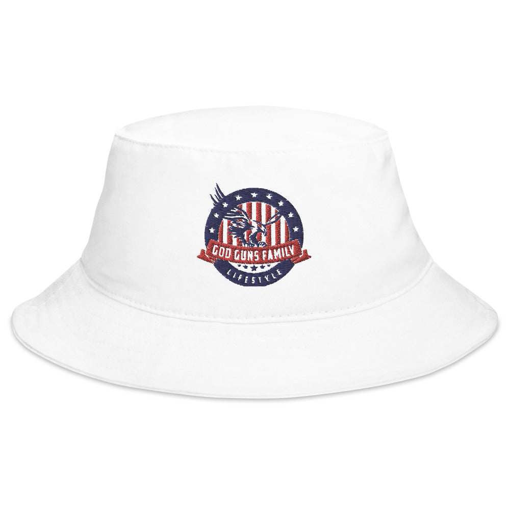 God Guns Family Life Style Bucket Hat