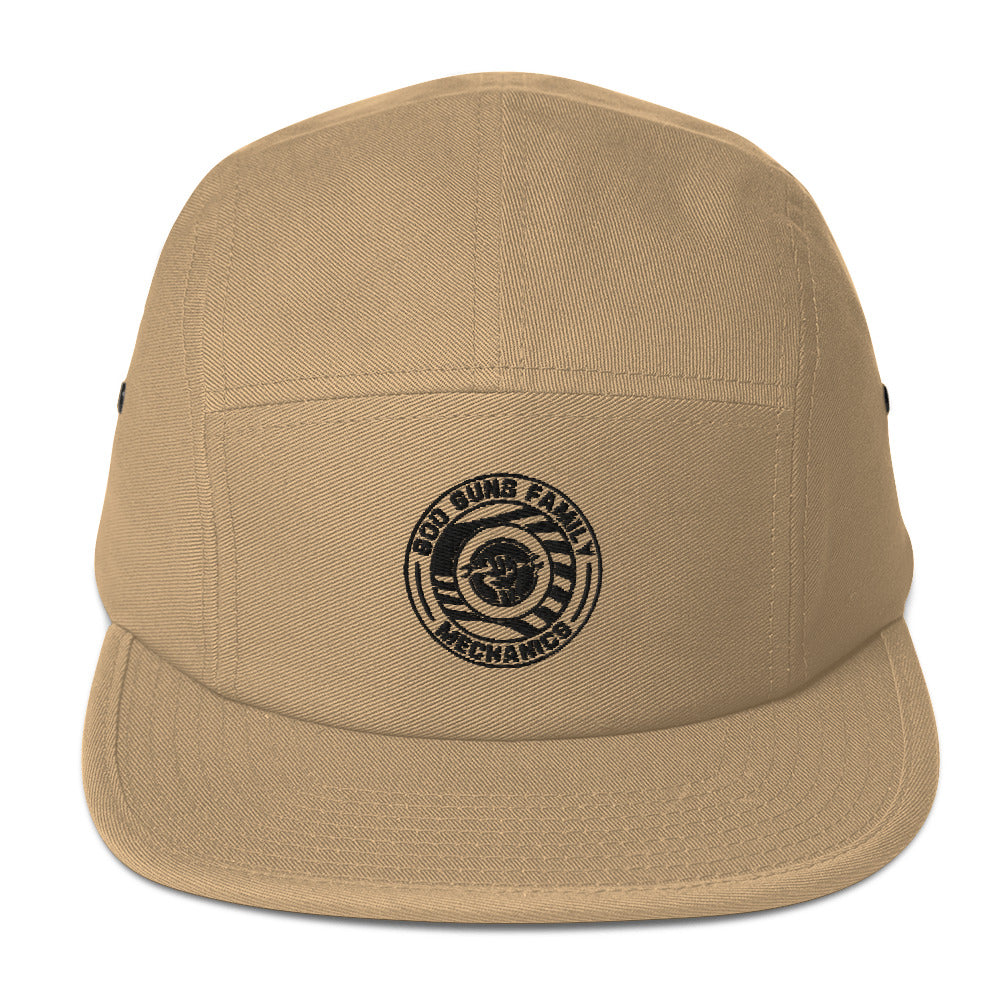 God Guns Family Mechanics Five Panel Cap