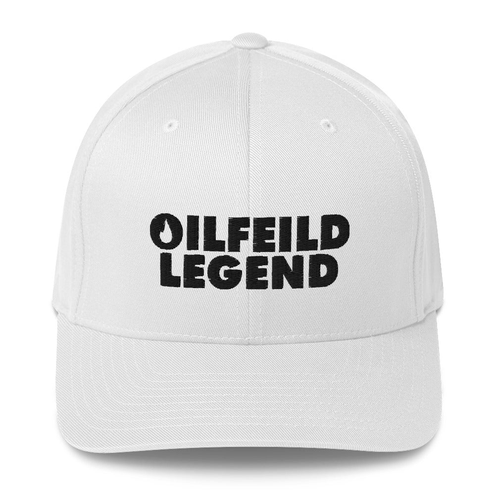 OilFeild Legend Structured Twill Cap