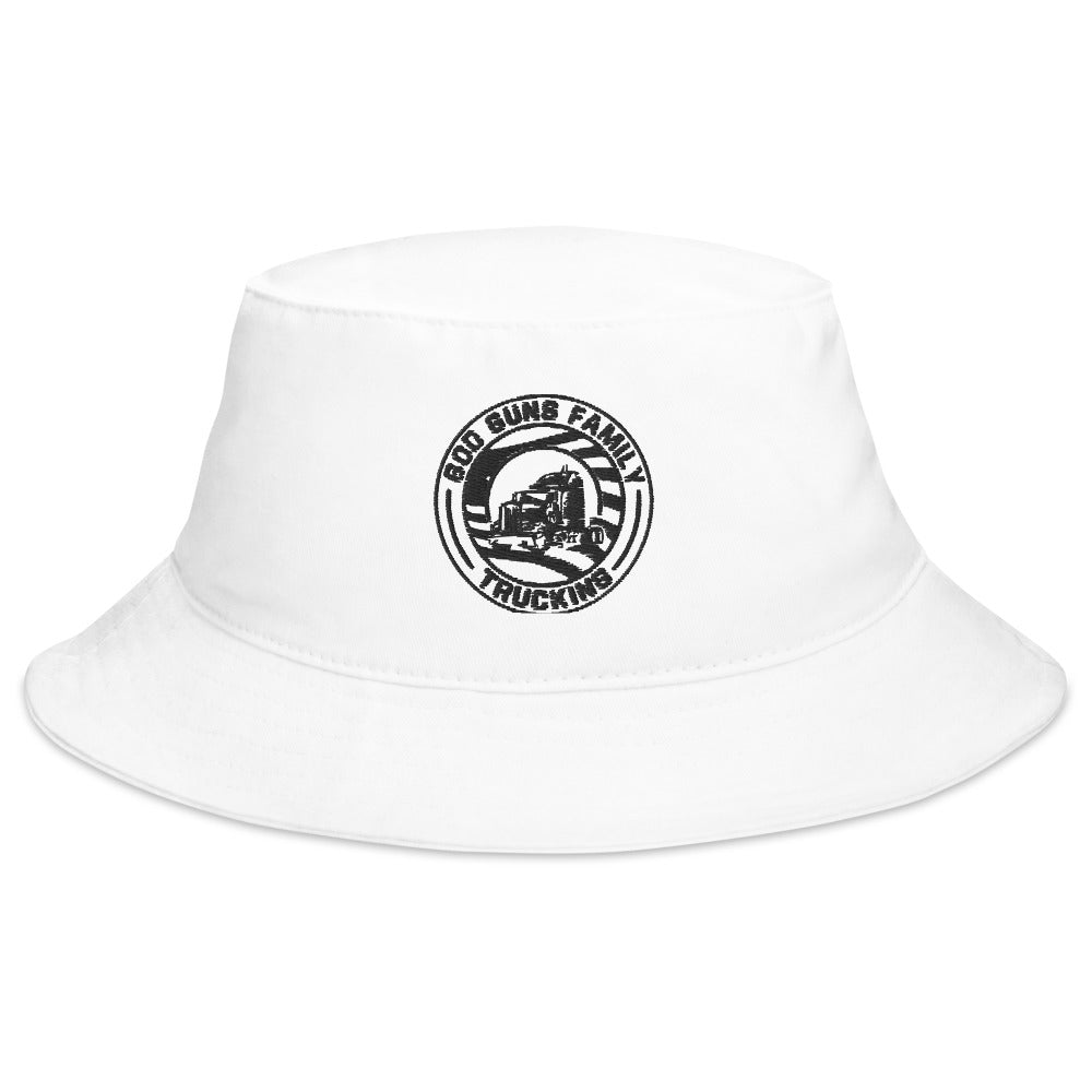 God Guns Family Trucking Bucket Hat