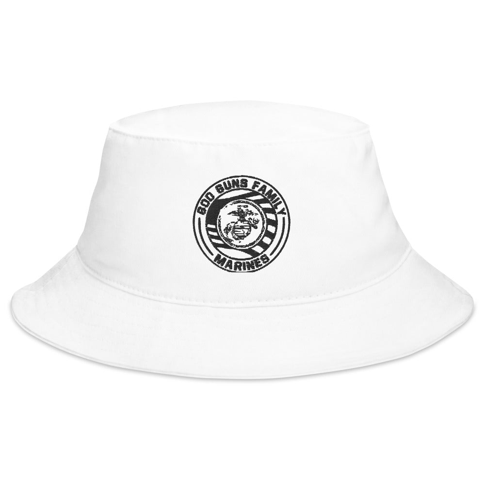 God Guns Family Marines Bucket Hat