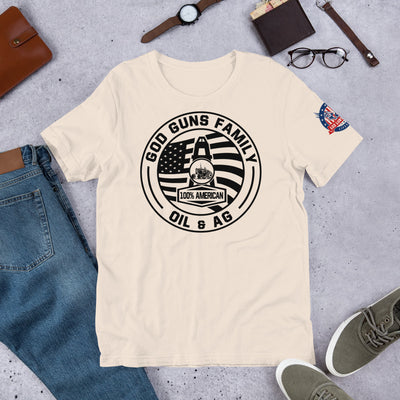 Oil & Agriculture Short-Sleeve Unisex T-Shirt