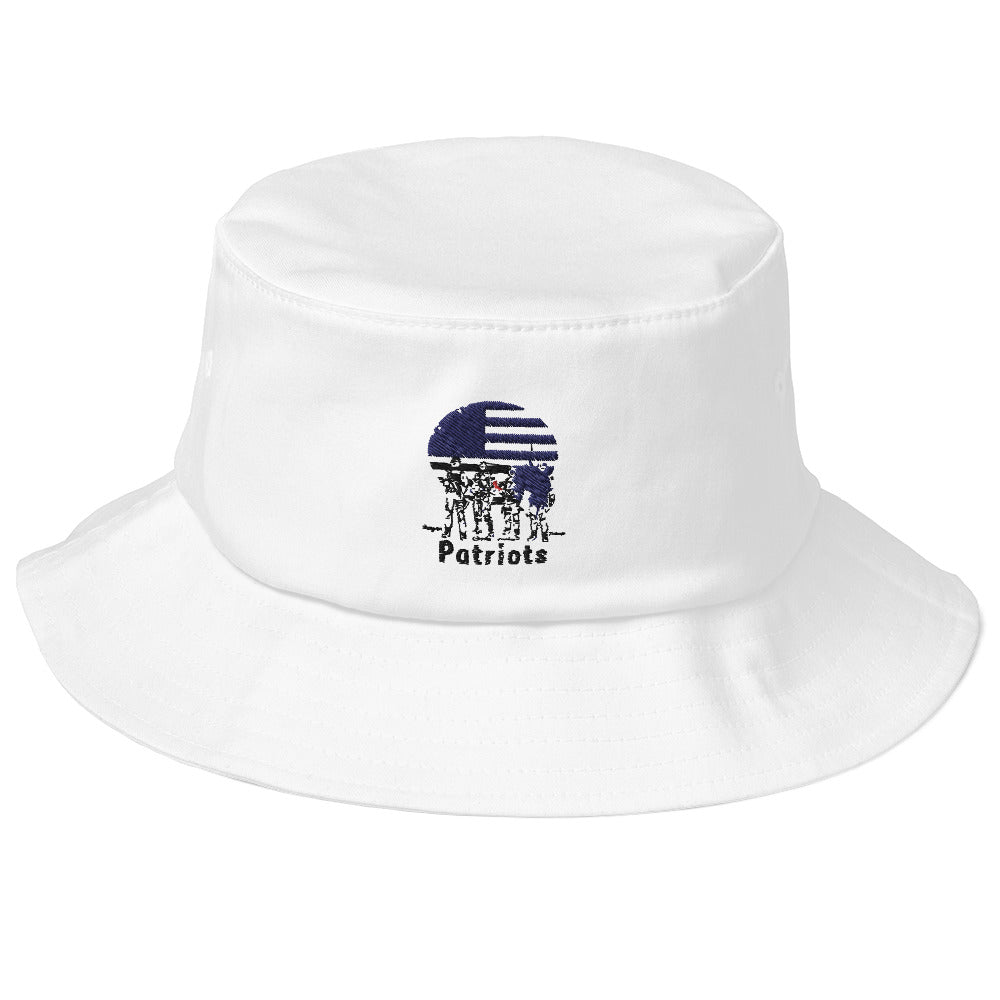 Patriots Old School Bucket Hat