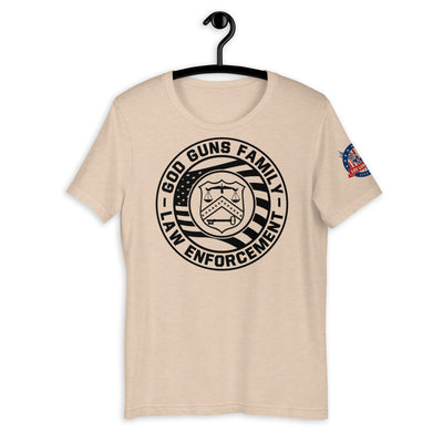 Law Enforcement Short-Sleeve Unisex T-Shirt