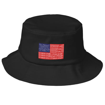American Old School Bucket Hat