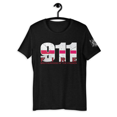 911 Fire Short-Sleeve Unisex T-Shirt