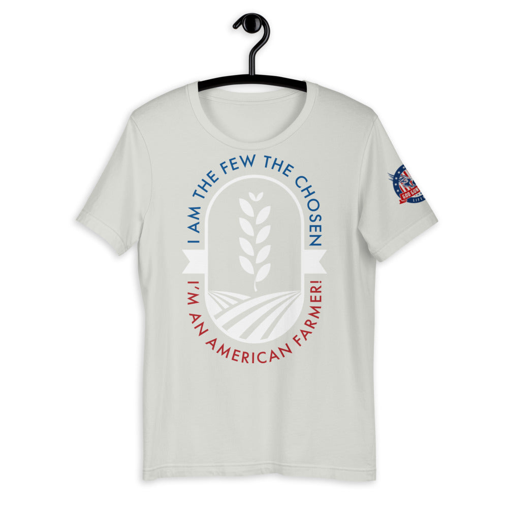 I Am The Few Chosen American Farmer Short-Sleeve Unisex T-Shirt