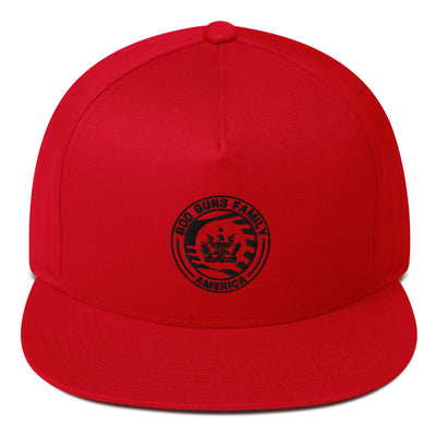 God Guns Family America Flat Bill Cap