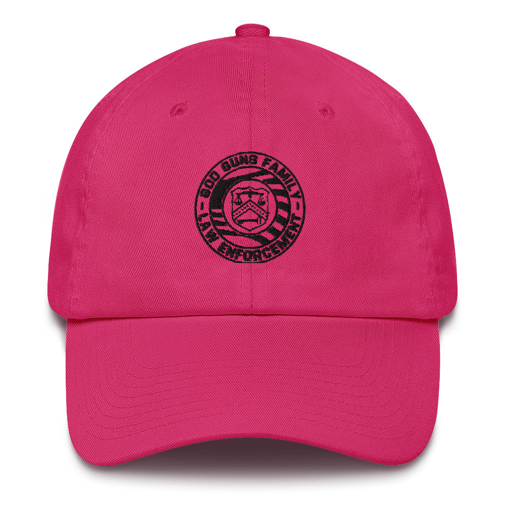 God Guns Family Law Enforcement Cotton Cap