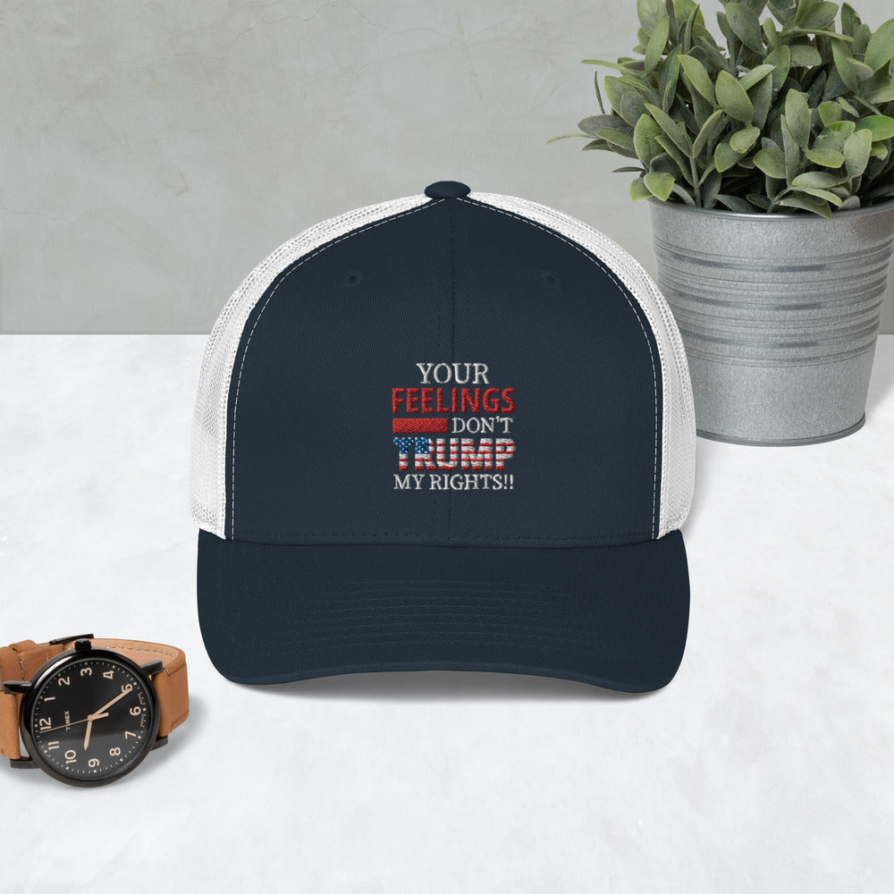 Your Feelings Don't Trump Trucker Cap