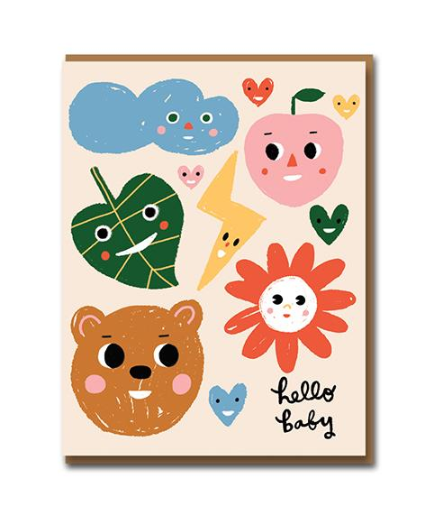 Sunny Faces Card