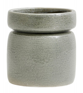 'Isa' Planter with Light Green Glaze