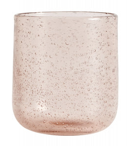 Maroc Drinking Glass, Pale Pink