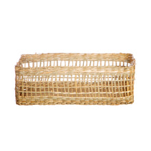 Load image into Gallery viewer, Seagrass Rectangular Basket
