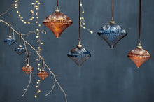 Load image into Gallery viewer, Bouka Baubles (Set of 4) - Indigo