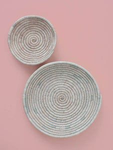 Palm Leaf Woven Plates