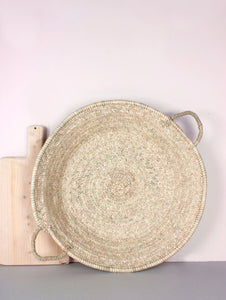 Oversized Woven Plate