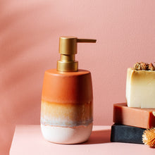 Load image into Gallery viewer, Mojave Glaze Terracotta Soap Dispenser