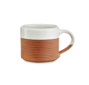 Mali Ribbed Coffee Mug - Set of 2