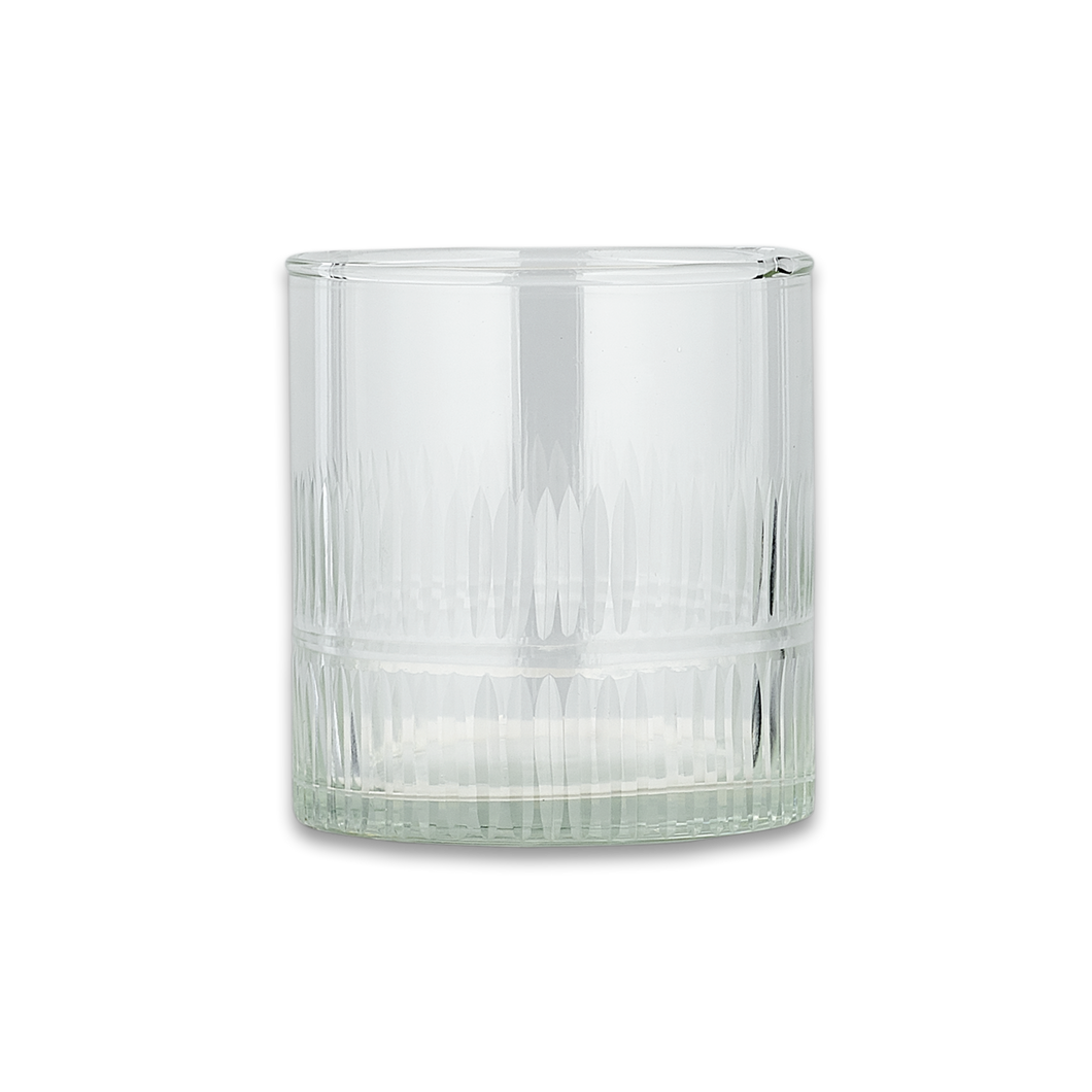 'Mila' Tumbler, Clear - Set of 4