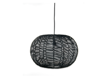 Load image into Gallery viewer, Noko Wicker Round Pendant