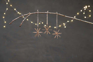 Dagari Star Decorations (Set of 3)