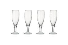 Load image into Gallery viewer, Yala Hammered Champagne Glass - Clear Glass