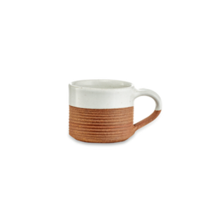 Mali Ribbed Espresso Mugs - Set of 2