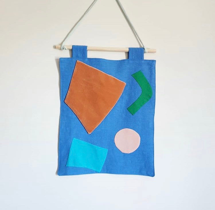 Colour Block Wall Hanging