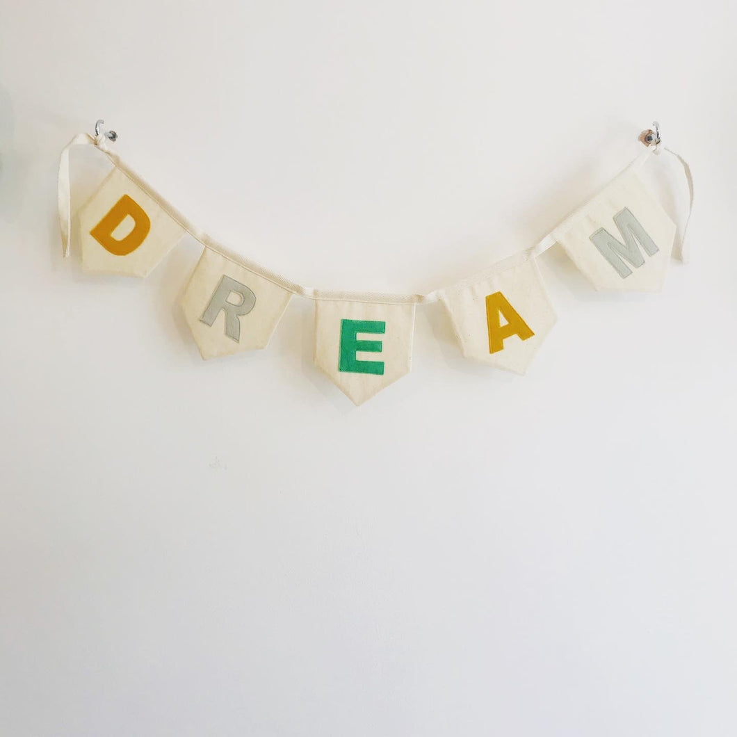 'Dream' Bunting by Baba & Bunt